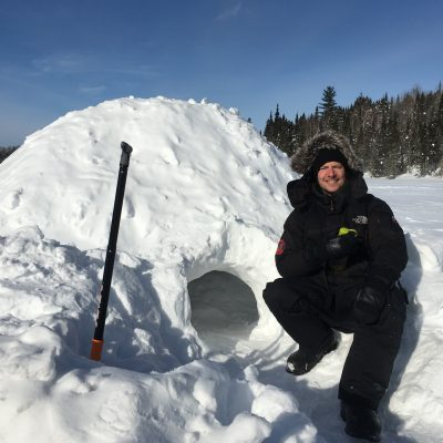 A night in a none-inclusive hotel in northern-Quebec